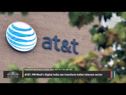 AT&T PM Modi's Digital India Can Transform Indian Telecom Sector - TOI