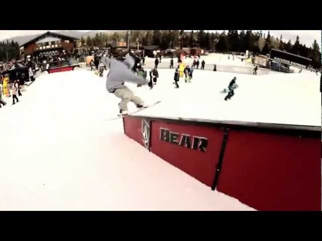 2012 Volcom Stone's Peanut Butter & Rail Jam @ Bear Mountain