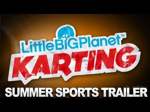 LittleBigPlanet Karting Trailer - Summer Sports