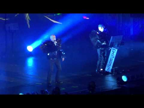 Pet Shop Boys en Chile 2013. Fugitive e Integral