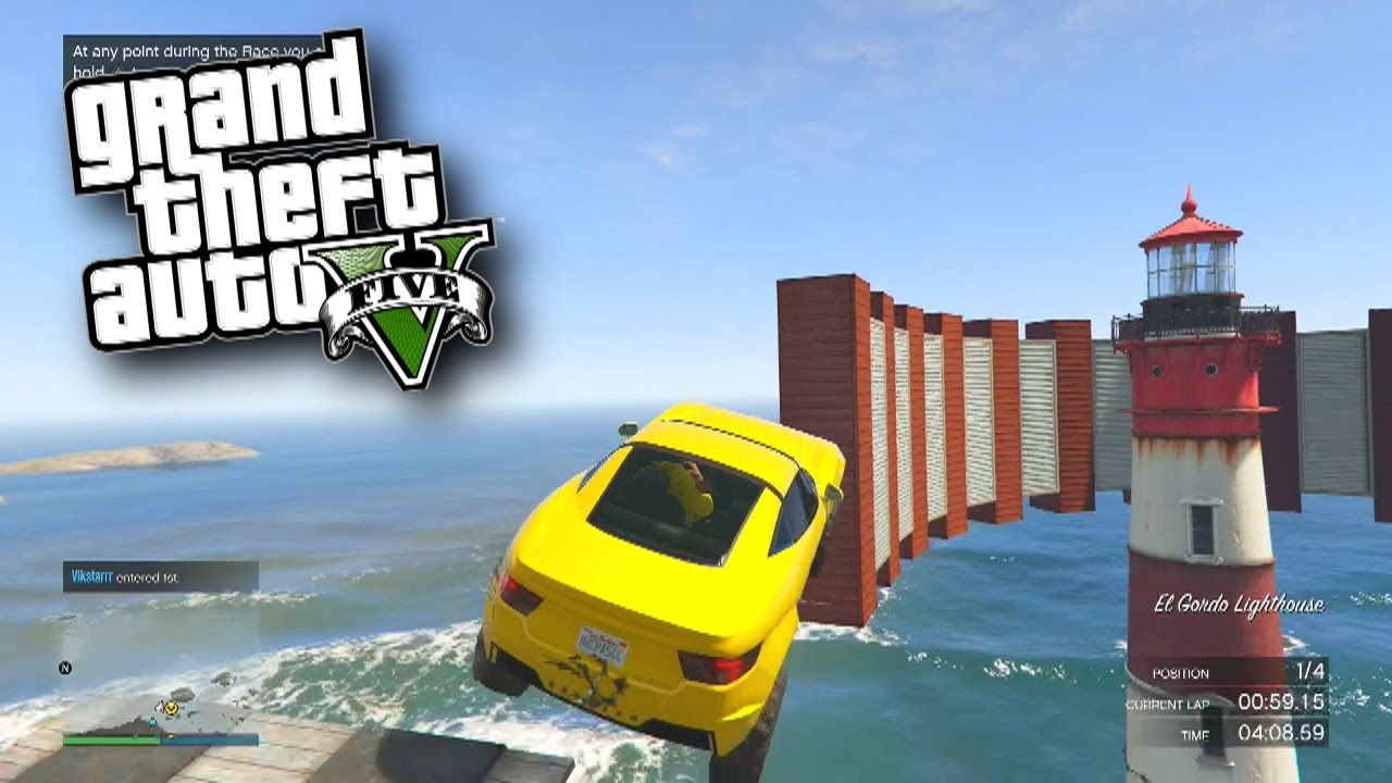 """GTA 5 Funny Moments #408 with Vikkstar (GTA 5 Online Funny Moments) <a href=""""http://t.co/pq4L7Iiasw"""" class=""""linkify"""" target=""""_blank"""">http://t.co/pq4L7Iiasw</a>"""