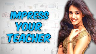 24 TIPS TO IMPRESS TEACHER - HOW TO IMPRESS YOUR TEACHER IN HINDI [ हिंदी ]