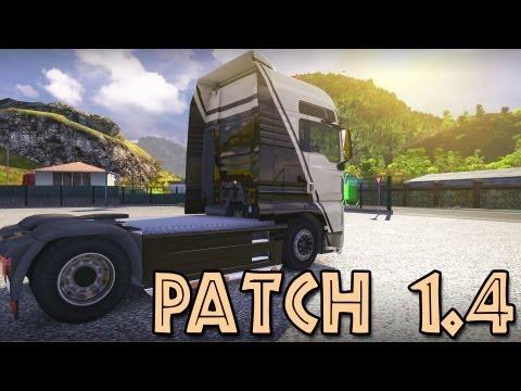 Посмотреть ролик - Patch 1.4 - Euro Truck Simulator 2 (Research Profile) ,