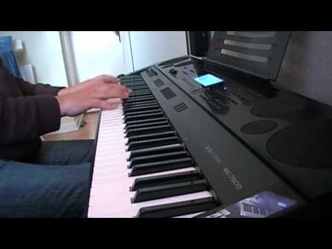 Casio WK-7500 Piano Demo Bach Praeludium 1