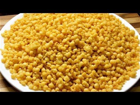अब रायते वाली गोल गोल बूंदी बनाएं घर पर आसानी से /besan ki boondi recipe in hindi