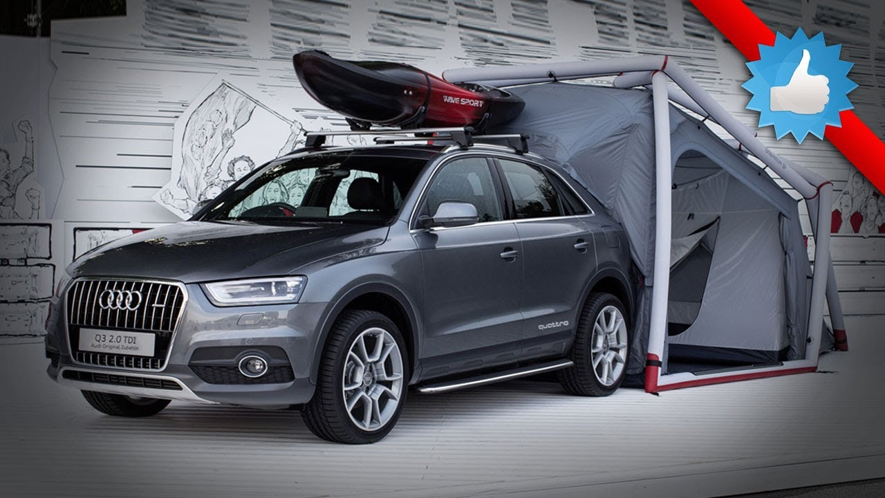 2015 Audi Q3 With Camping Tent At Worthersee Ultimate