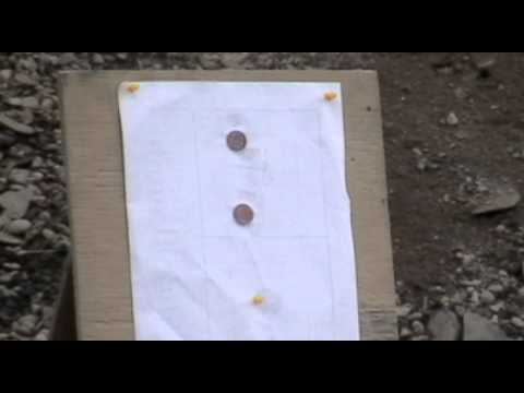 Savage Stevens .223 pennies at 100 yards