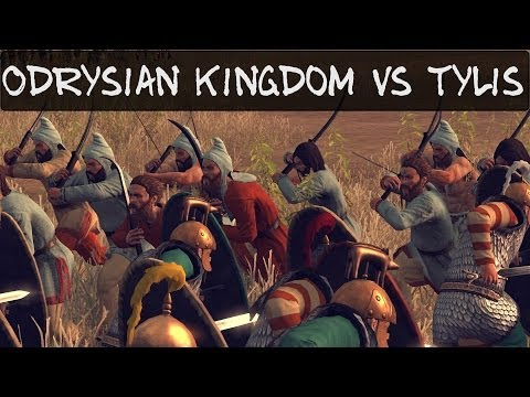 Total War Rome 2 Online Battle 63 Odrysian Kingdom vs Tylis