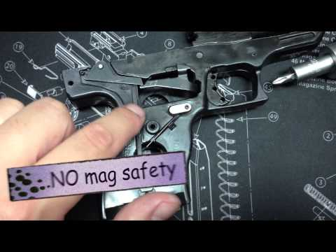 How to fix your Hi Point pistol feeding problems - Make your trigger smoother