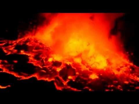Nyiragongo Volcano, the World's largest lava lake