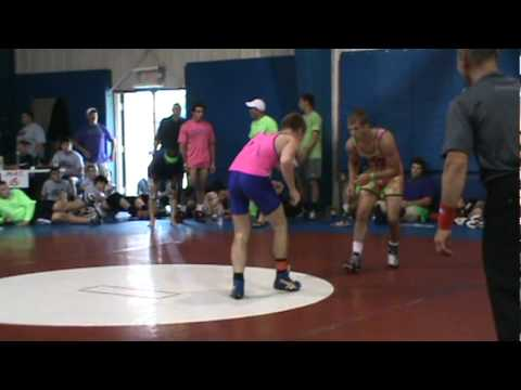 Corey Voorhis (Ragin Raisins) vs. Blake Horne (Lake Erie House Team) 157.mpg