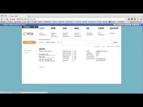 Лучшая панель управления хостингом бесплатно = Vesta. Установка панели управления хостингом с нуля!