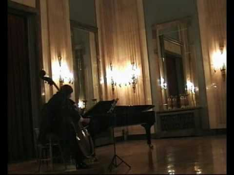 Franck A-dur Sonata 3rd mov Goran Kostic Kontrabass Double Bass