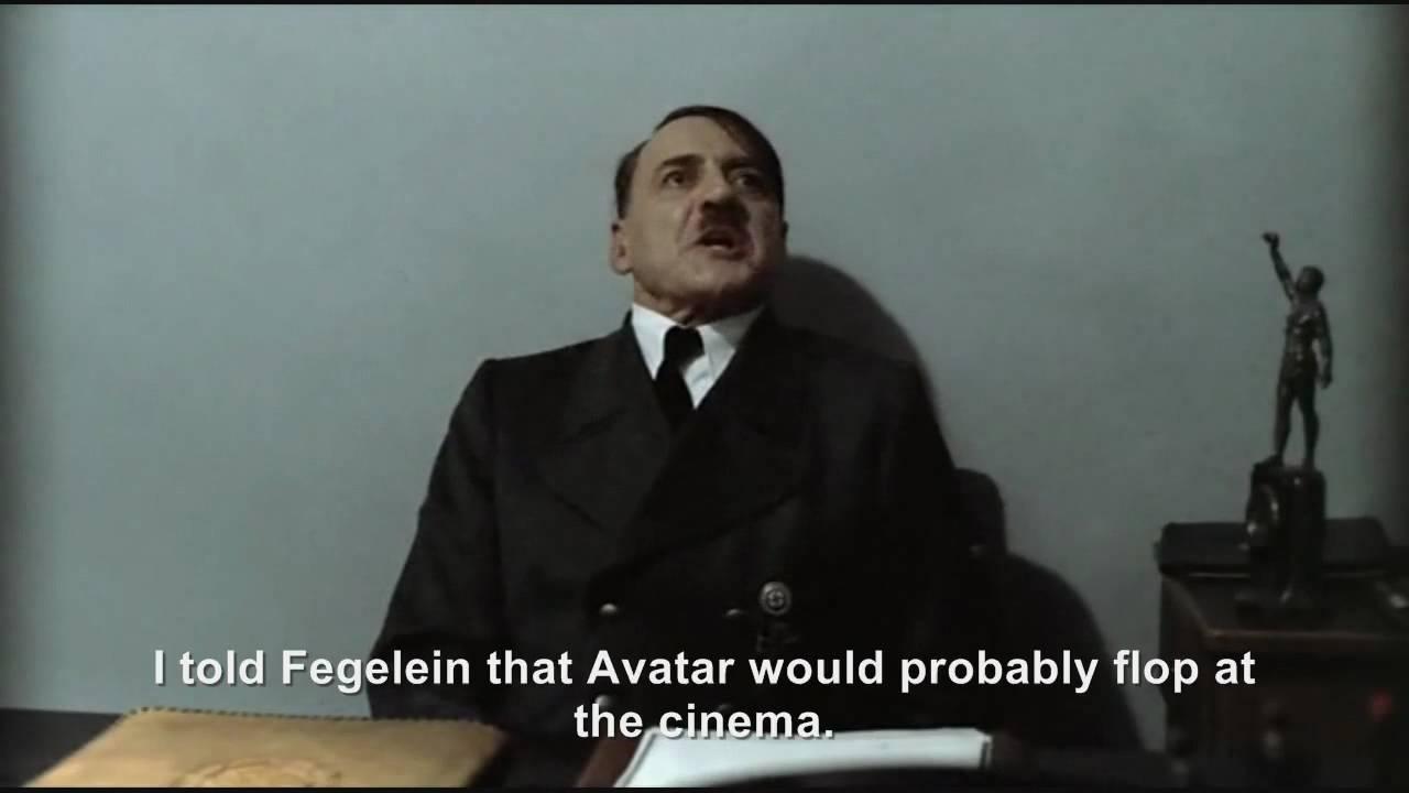 Hitler is informed Avatar has made over $2 billion worldwide