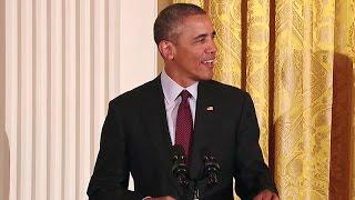 Obama Hosts an Iftar Dinner