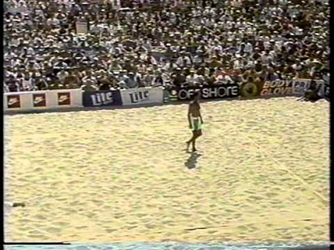 AVP Volleyball 1991 Manhattan Final