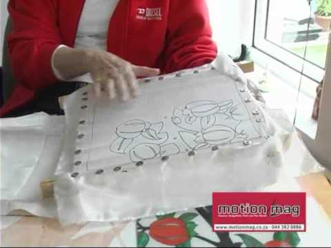 Silk Painting Art