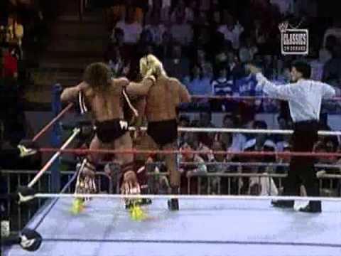 Ultimate Warrior Vs Greg The Hammer Valentine 1989 WWF