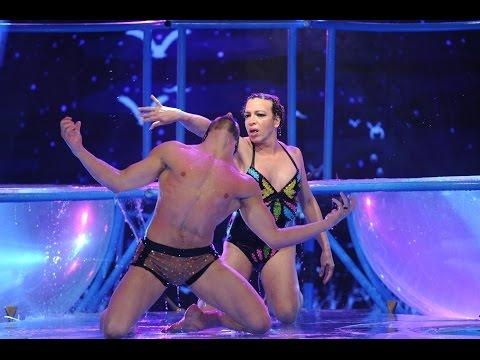 La eliminación de Sabrina Rojas, el aquadance de Lizy Tagliani y la chicana de Nicole en el Bailando