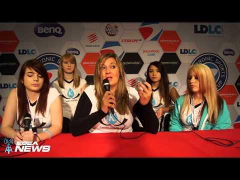 Eswc 2014 Interview: Pro Cs:go Female Team Karma Before Semi-finals video