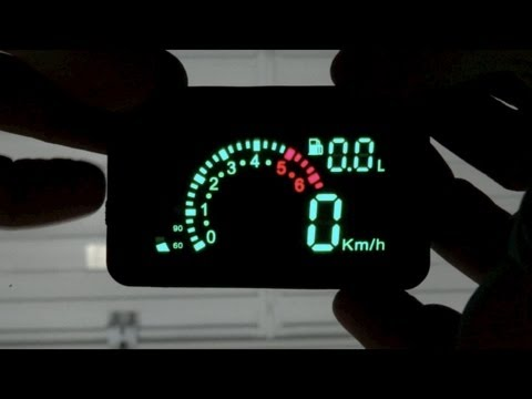 Add a Fighter Jet style HUD to your car