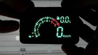 Add a Fighter Jet style HUD to your car (2012 Video - old info)