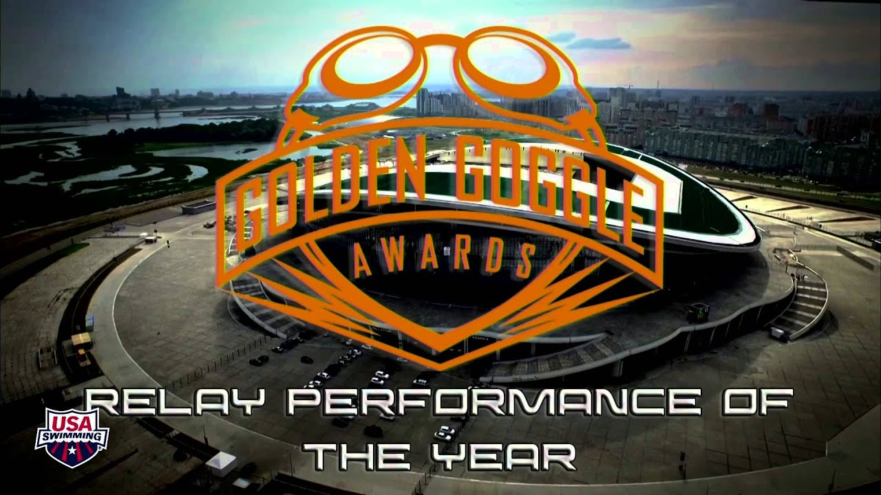 2015 Golden Goggle Awards Show: Relay Performance of The Year