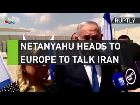 Netanyahu heads to Europe to talk Iran