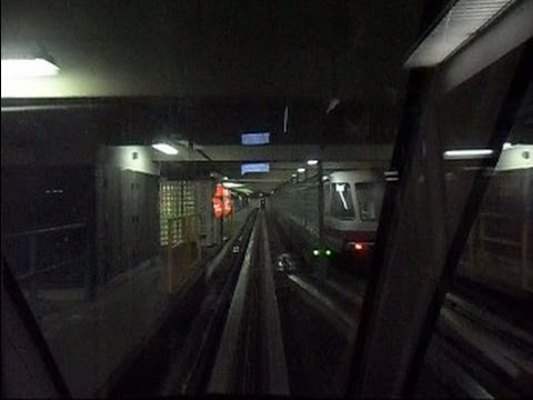 Tampa International Airport Monorail Ride