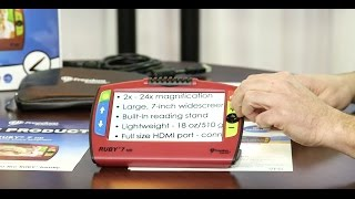 RUBY 7 HD Magnifier - Episode 94