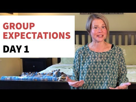 30-Day Alcohol Free Challenge - Group Expectations - Day 1