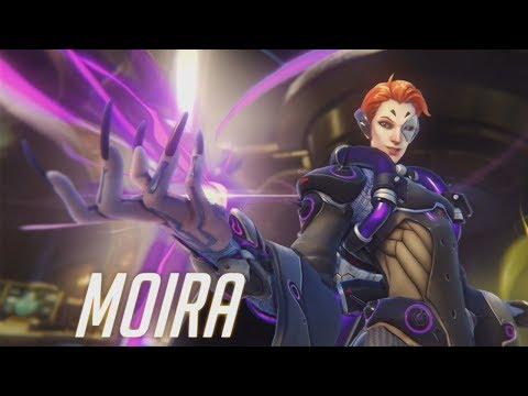 OVERWATCH NEW SUPPORT HERO : MOIRA
