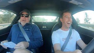 Scaring my Girlfriend's Dad in my Ferrari 458 Italia