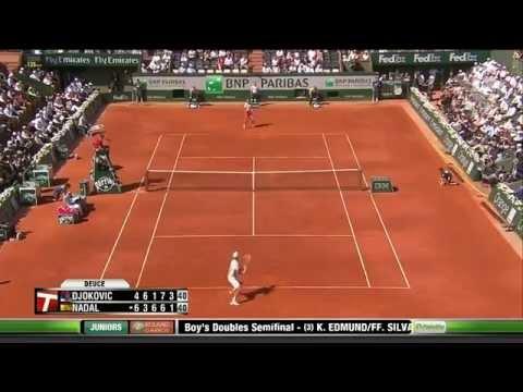 French Open/Roland Garros SF 2013-- Rafael Nadal vs Novak Djokovic (HD)