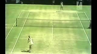1973 WIMBLEDON Women's Single [Final ] - Chris Evert vs Billie Jean King