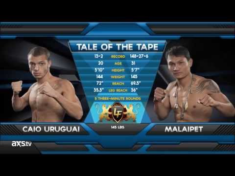 Malaipet Manhandles at Lion Fight 11 in the Fight of the Week