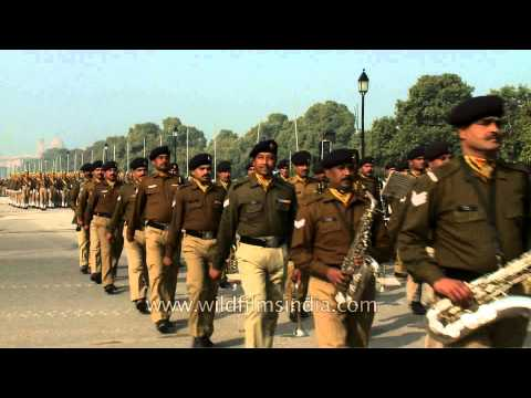Indian Army Musical Band Parade On Republic Day video