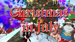 Giant snail race 526 18 July 28 Christmas in July