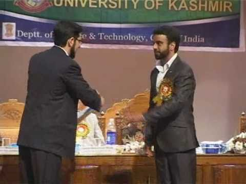 Young Scientist Award 2010, JK Science Congress, National Institute of Technology