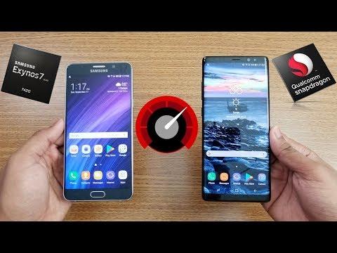 Samsung Galaxy NOTE 8 Vs Galaxy NOTE 5 Speed Test !!!