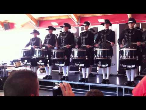 Top Secret Drum Corps - Drumming for Drinks 2012