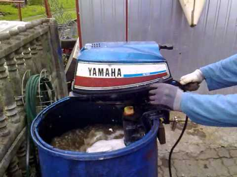 Yamaha 5 hp outboard motor cooled 2 stroke for Air cooled outboard motor kits
