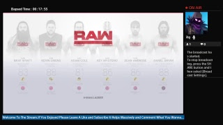 WWE 2k19 Interactive Universe Mode Episode 1