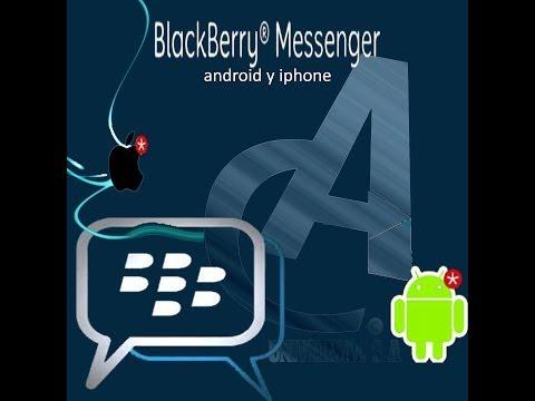 original link para descargar bbm para android y iphone