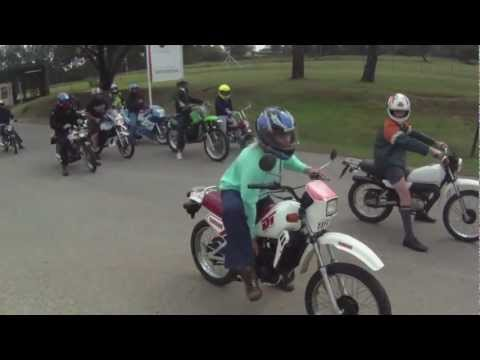 50cc Motorbike Schoolboy Breakfast Run