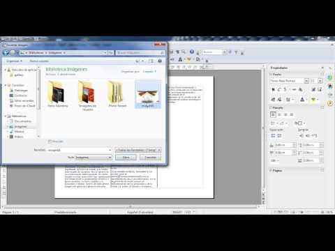 Tutorial: OpenOffice- Hacer tríptico