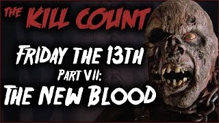 Friday the 13th Part VII: The New Blood (1988) KILL COUNT
