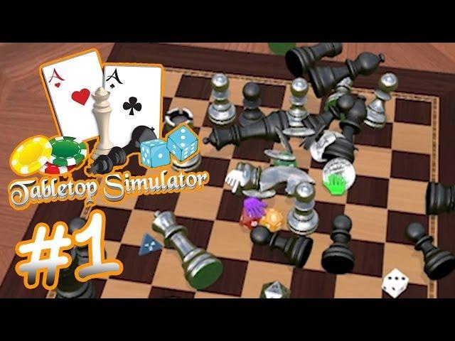 Руководство запуска: Tabletop Simulator по сети