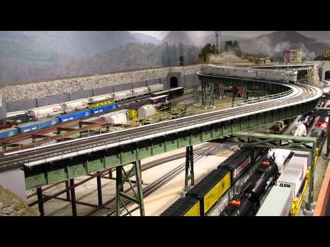 Eric's Trains - Episode 47 (steel bridge ribbon cutting ceremony!)