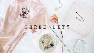 ☆ three diys ☆